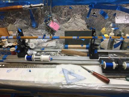 Marlin 23 feet 5 x 150lb Hand Made #1 Windon Leaders Wind-On Leaders