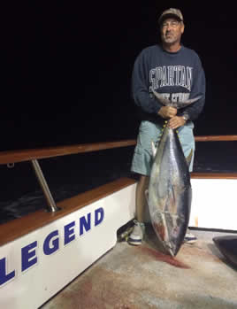 e31f473cf71ab ... slow side- as it s backed off several boats out last night for that  early morning bite- Fisherman s Landing reports- The Legend has hooked 20  Bluefin 80 ...
